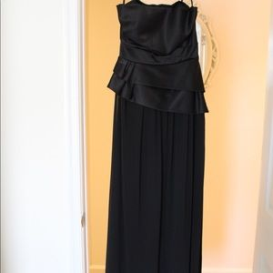 BCBG-MaxandCleo Floor Length Strapless Gown